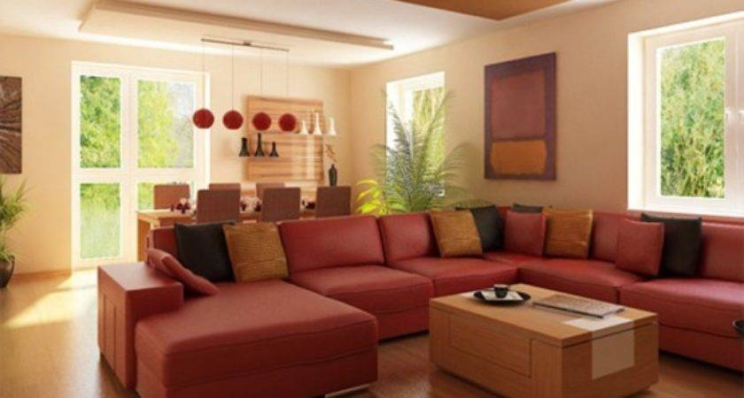 Red Couch Decorating Country Home Design Ideas