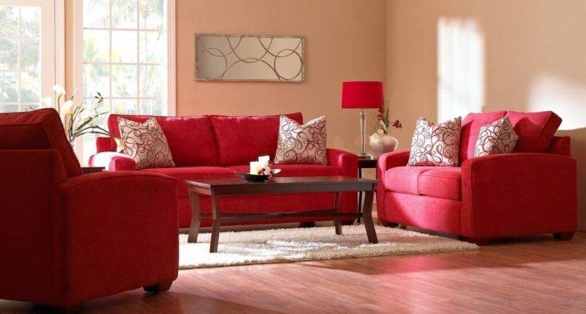 24 Cool Red Living Room Furniture Decorating Ideas Homes Decor