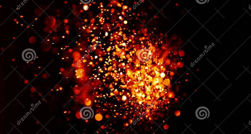 Red Gold Festive Christmas Elegant Abstract