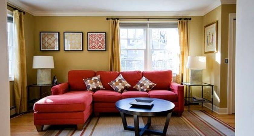 Red Gold Living Room Thecreativescientist