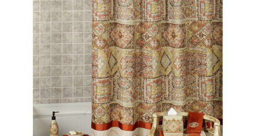 Red Gold Shower Curtain Curtains Ideas Cablecarchic