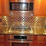 Red Kitchen Backsplash Accent Tile Uneekglassfusions