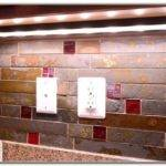 Red Kitchen Backsplash Tiles Set Home