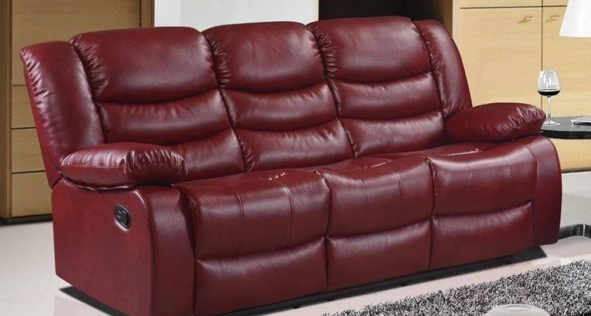 Red Leather Sofa Decor Ideas Kienandsweet Furnitures