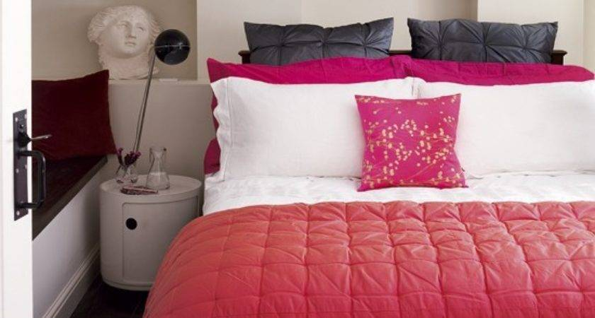 Red Pink Bedroom Colourful Housetohome