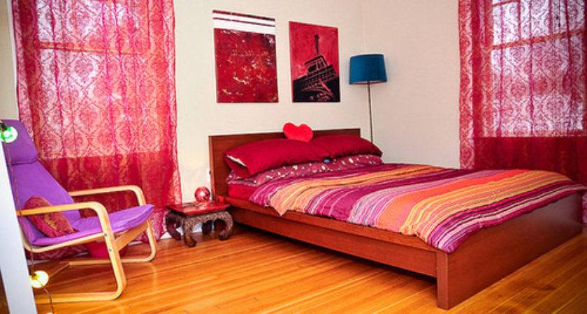 Red Purple Pink Bedroom Flickr Sharing