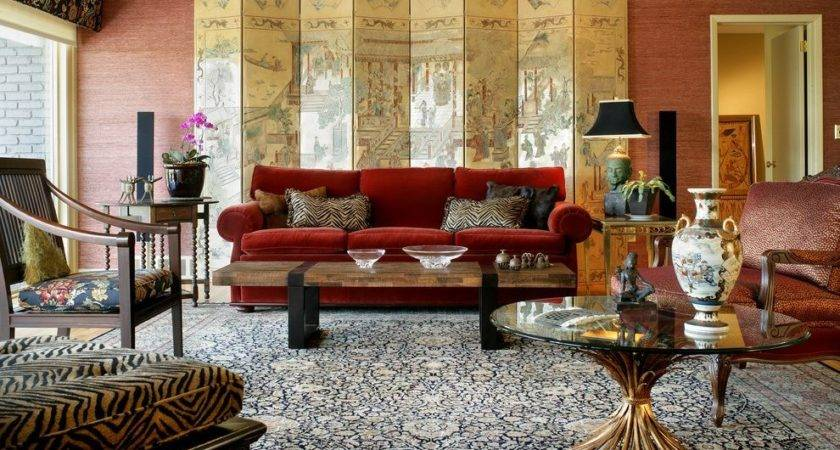 Red Sofa Decor Living Room Decorating Ideas