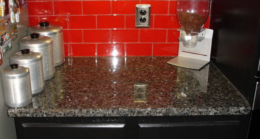 Red Tile Backsplash Osirix Interior