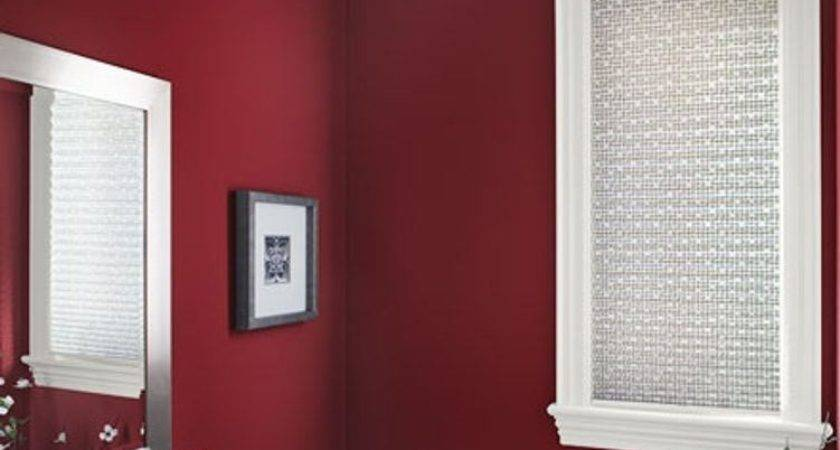 Red Wall Color White Window Shutter Classic