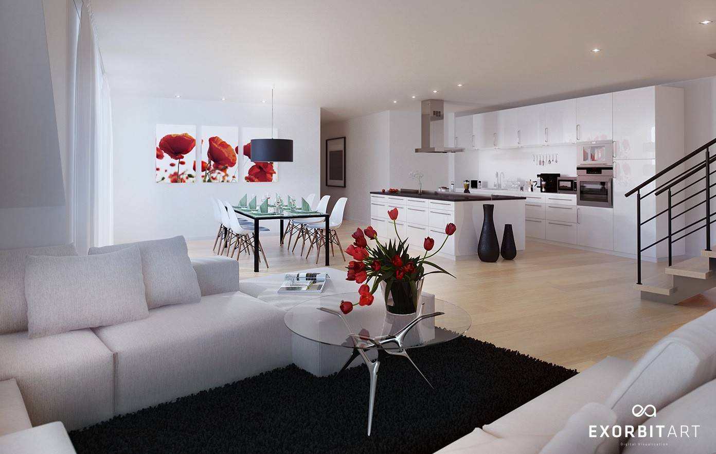 Stunning Red Black And White Decor Ideas Homes Decor