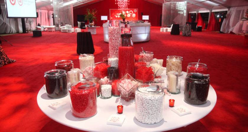 Red White Black Party Decorations Quotes