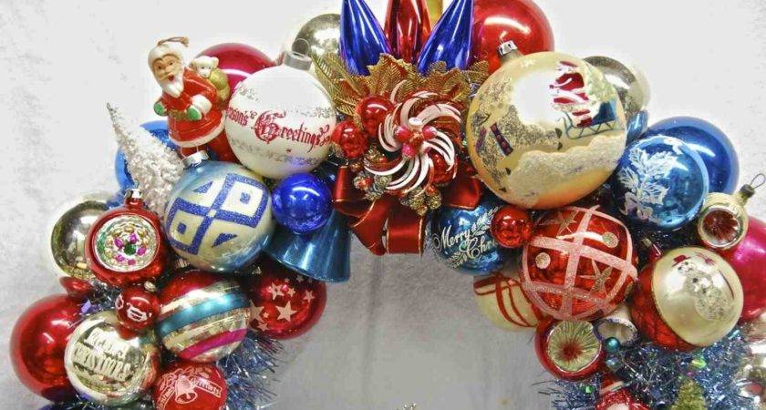 Red White Blue Christmas Tree Decorations