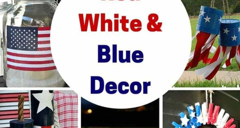 Red White Blue Decoration Ideas Princess Pinky Girl