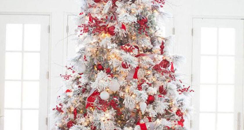 Red White Christmas Decorating Ideas All