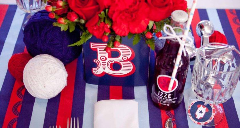 Red White Coo Themed Baby Shower Military Moms