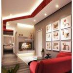 Red White Living Room Design Ideas Decobizz