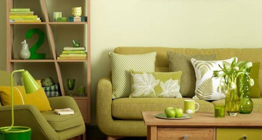 Relaxing Green Living Room Classic Decorating Ideas