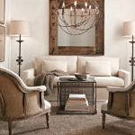 Restoration Hardware Living Room Love Chandelier