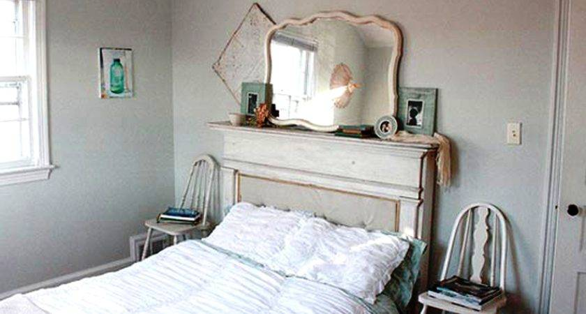 Ritzy Vintage Small Bedroom Ideas White Ruffled Cover