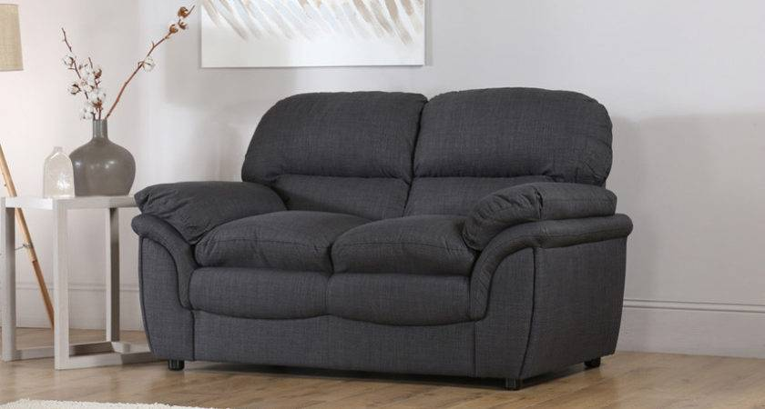 Rochester Fabric Seater Sofa Slate Grey Only
