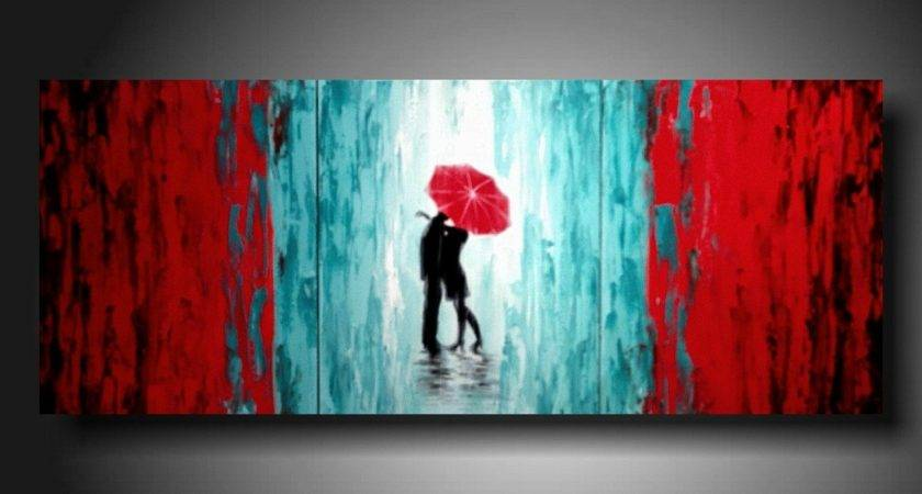 Romantic Design Style Paintings Ideas Plain