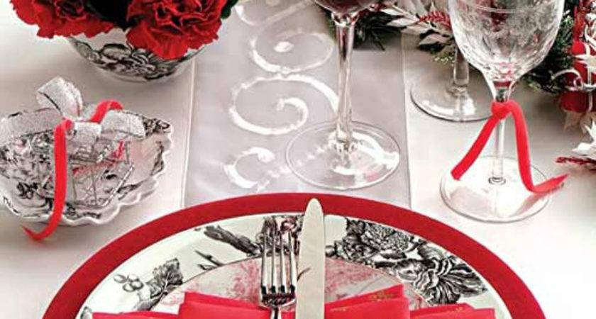 Romantic Valentine Day Table Setting Ideas Home