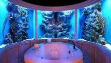 Room Aquarium Think Again Unusual Places