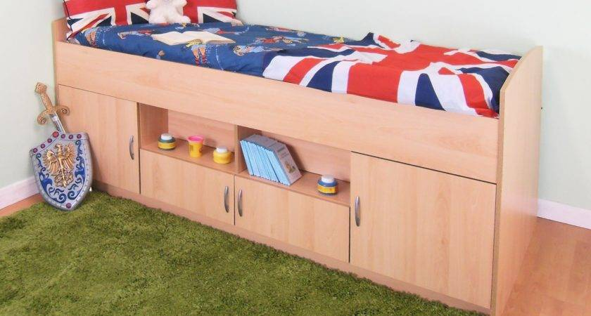 Rosey Teenager Midi Cabin Mid Bed Suitable Boys