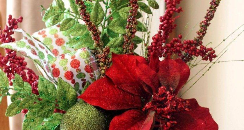 Round Dining Tables Christmas Centerpiece Ideas Table