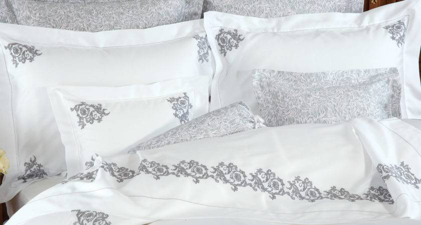 Royal Scroll Luxury Bedding Italian Bed Linens