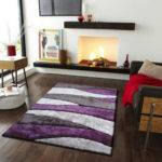 Rug Factory Plus Living Shag Purple Gray Reviews
