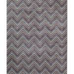 Rugs America Tahoe Purple Chevron Rug Shop Home