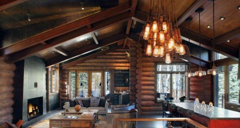 Rustic Contemporary Interior Design Trulinea