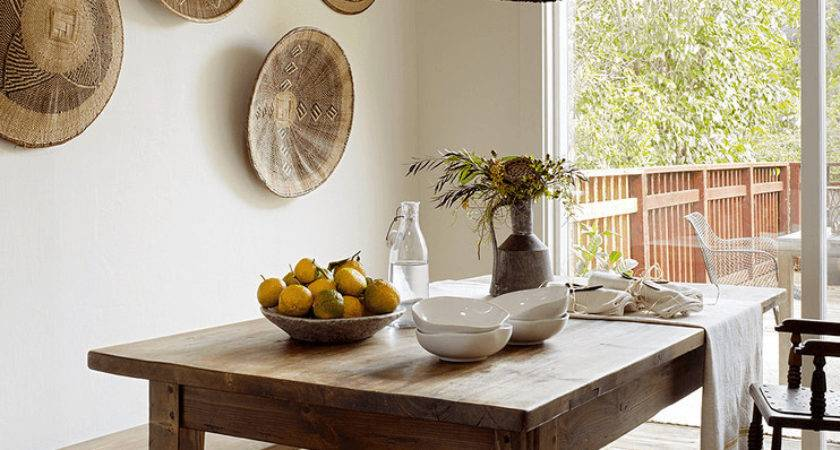 Rustic Dining Room Wall Cor