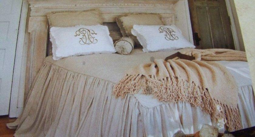 Rustic Farm Living Shabby Chic Bedroom