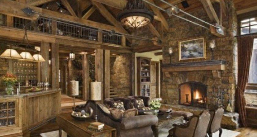 Rustic Interior Design Ideas Living Room Decobizz