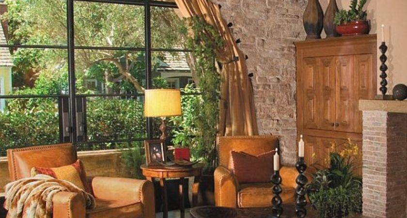 Rustic Living Room Ideas Stone