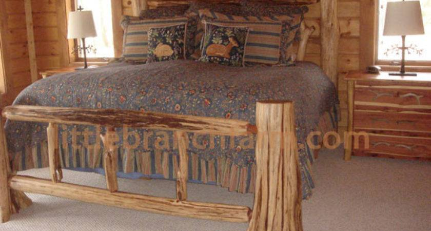 Rustic Log Beds Twisted Juniper