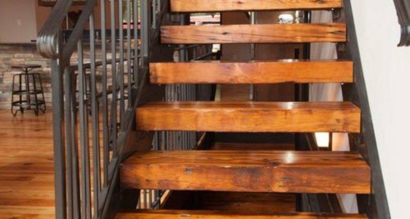 Rustic Louis Staircase Design Ideas Remodels Photos