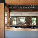 Rustic Modern Kitchen Room Interior Design House