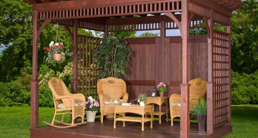Rustic Patio Design Diy Pergola Kits Ideas