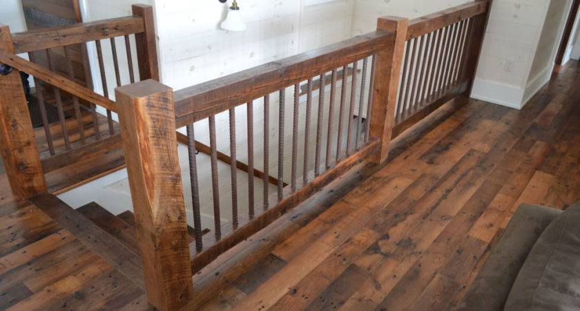 Rustic Stair Railing Ideas Beautify Your House
