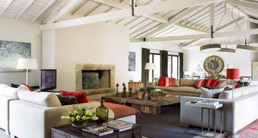 Rustic Style Living Rooms Modern Room
