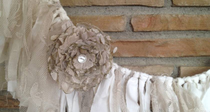 Rustic Wedding Garland Shabby Chic Decor