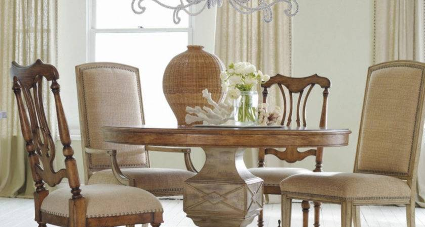 Rustic Wood Dining Table Round Very Elegant