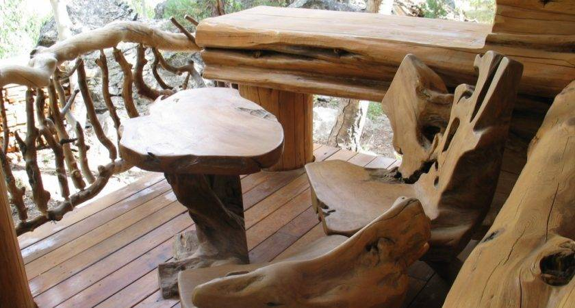 Rustic Wood Furniture Designs House All
