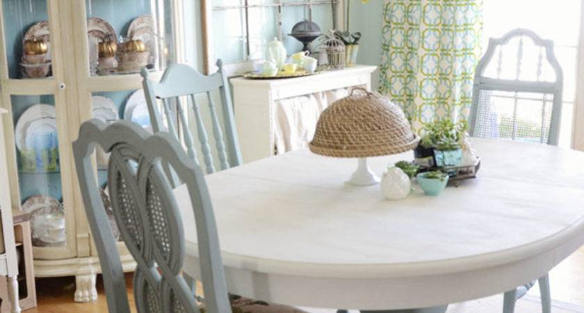 Save Tired Dining Room Chairs Chalk Paint