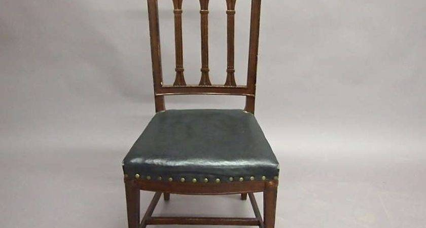 Set Dining Chairs Neoclassical Style Circa
