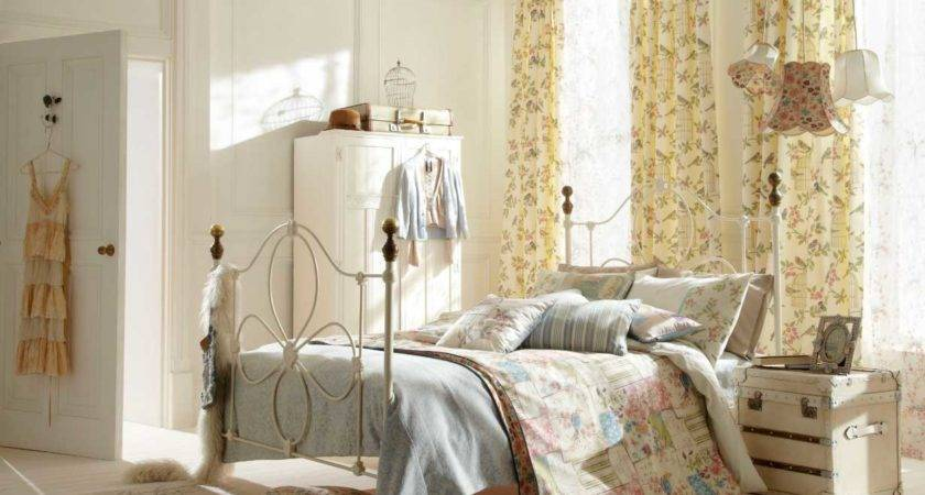 Shabby Chic Bed Frame Bedroom Decorating