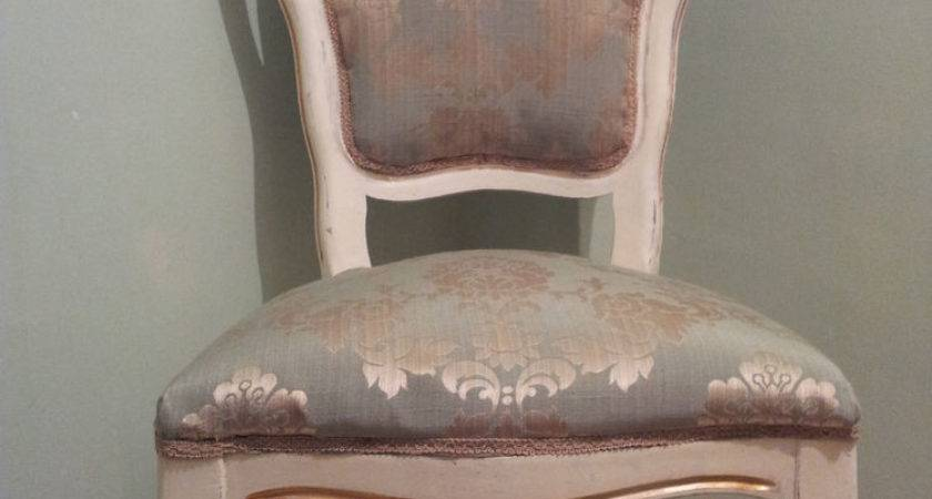 Shabby Chic Cream Duck Egg Blue Antique French Style